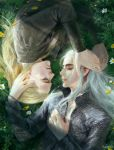 Thranduil and Legolas by FangWangLlin