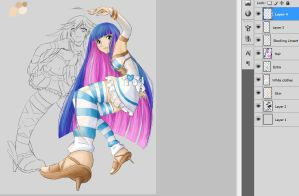 WIP Panty and Stocking by Hyokenseisou