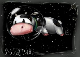 Space Cows by soggykitten