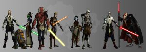 OC star wars crew by oz-of-the-land