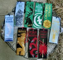 Game of Thrones Bookmarks - Complete by Katjakay