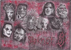 SLIPKNOT by johnlouiecaro
