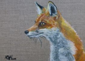 Linen Fox by Actlikenaturedoes