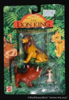 The Lion King - Adult Simba / Pumbaa - Mattel 1994 by dapumakat