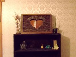 Heart Shaped Arch, flowing stone model by Devine-Escapes