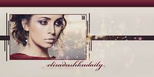 Layout Eliza Dushku Daily Pictures Archives 1 by MissKettyDesigns