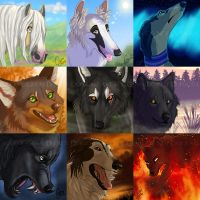 Icon Batch by InstantCoyote