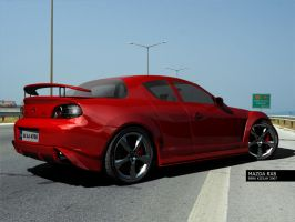 MY MAZDA RX8 by palax