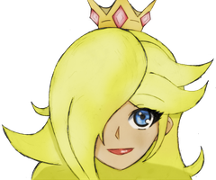 Rosalina Colored by TempusSubsisto