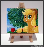 Applejack (Mini Canvas) by Onyrica