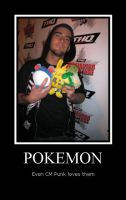 CM Punk Pokemon by xStraightEdgexPunkx