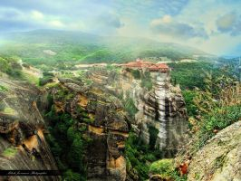 Meteora (Greece) by MiloshJevremovic