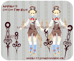 [CLOSED] Adoptable 11: Coo Coo Time Killer by Serendipiter