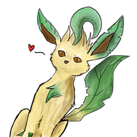 Leafeon by Gale-Okami