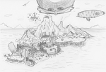Angel Island Sonic 3 and Knuckles by ManicSam
