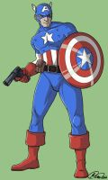C is for Capitan America by jillybean200x