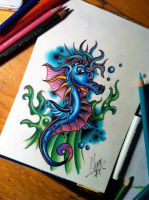 Seahorse by itchysack