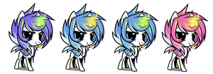 Wickle Chibi - Colors by Wicklesmack