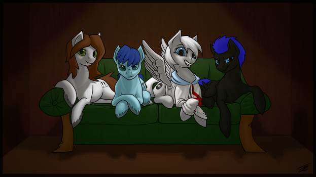 [Commission] Couch by ToasterRepairUnit