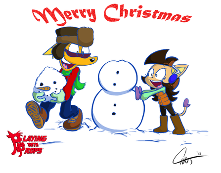 PWP Merry Christmas 2013 by MisterChris0123