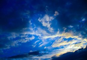 blue sky atmospheric III by little-one-girl