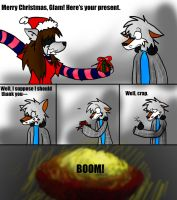 Merry Christmas Glam xD by x-Wolfeh-x