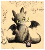 baby toothless by stefi-heartlilly