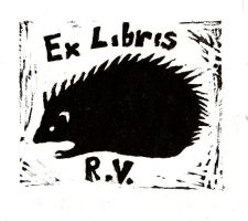Exlibris for my Mom by Melmolly