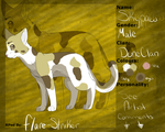 Duneclan Reference sheet - Skypaw by Flare-Striker