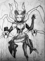 Elise, The Spider Queen by Lazyfireguy