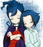 Tsurugi and Oniichan by Kotaechan