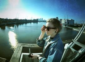 spring and fisheye by JuliannaRembrandt