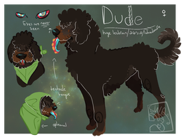 Labradude Reference 2015 by mustardgreens