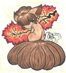 Vulpix in Fall by TroikAnia