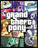 Grand Theft Pony by kta1540