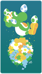 Save All the Eggs Yoshi by raygirl