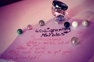 Wish-granting Marbles by distracta