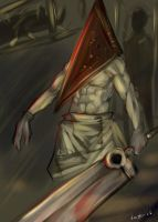 Silent hill - Pyramid head by buuzen
