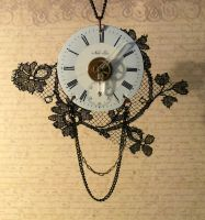 Pendant Time's wheel-0A by clemcrea
