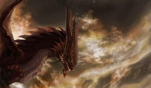 Elchulus The Dragon - Vindictus by kapiheartlilly
