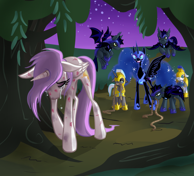 Banishment of the Sun by PumpkinSoup