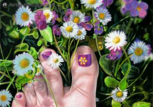 Springtime Feet by LMan-Artwork