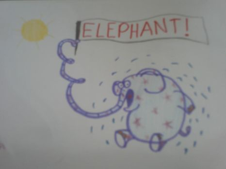 Elephant by Junel14