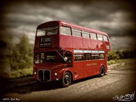 Red Bus by PaSt1978