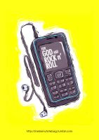 for GOD and ROCK n ROLL by Iyeq