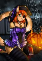 Halloween gift picture for Ginger (+Video) by Eliana-Asato