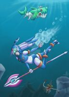 Deep Water - Leviathan by Sting-Chameleon