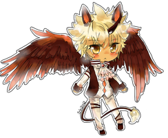 Art trade :Onisuu: by Skyler-chan498
