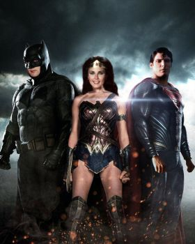 DC Trinity - 60/70s In Modern Day by SuperDude001