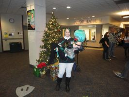 Dark Link and Mikuo - Tigercon 2012 by WolvesOfComedy